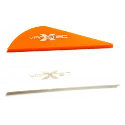 10pk White Fineline Gliders
